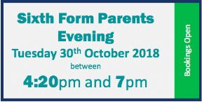 6th Form Parents Evening