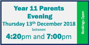 Year 11 Parents Evening